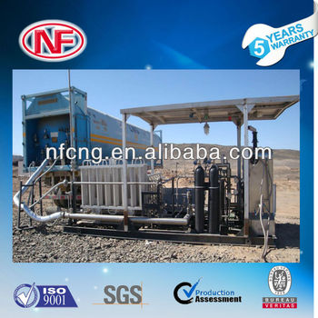 Skid LNG Filling Stations