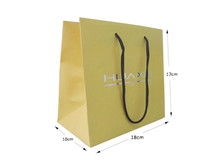 paper bags luxury with cotton rope handle