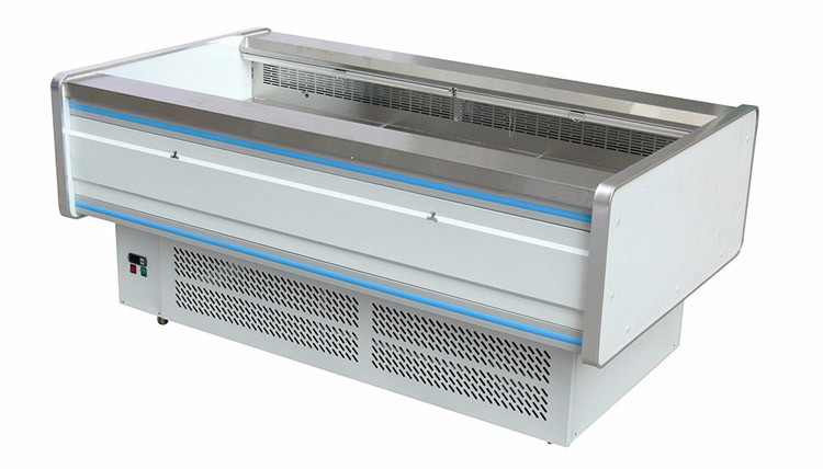 Made in china Open type meat display fridge 0~10 degree fish display counter for sale