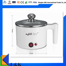 2017 High quality small size colorful electric kettle caldron