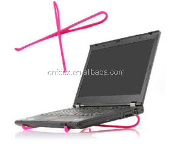 Top selling adjustable foldable notebook cooling pad ,notebook cooling stand ,laptop cooler stand