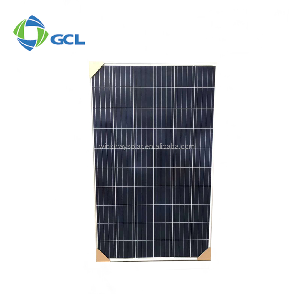 China PV Manufacturer GCL Poly Solar Panel 270w High Efficiency 4BB Commercial Solar Plant