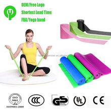 Fitness Elastic Stretch Latex Band Resistance Exercise Bands