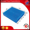 Durable integral moulding plastic pallet with 2 sides