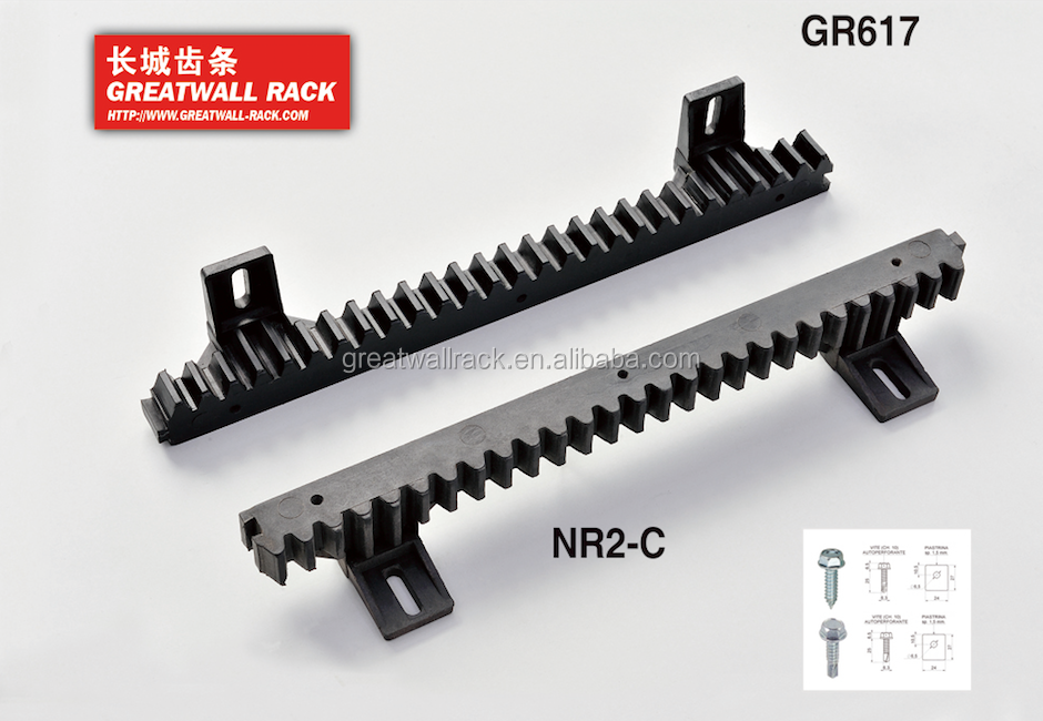 Greatwall 2 Lugs, 4lugs and 6 Lugs Plastic Gear Rack Pinion Drive Sprocket Wheel Synchronous Processing Nylon Gear
