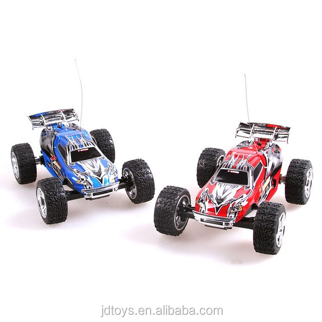 FJDTOYS Hot Item ! Radio Control 5 Speed Gears Monster Truck Toy RC Car 2.4G 4CH Electric Off Mini RC Car for Kids Toys