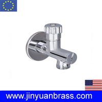 Brass Angle valve with filter