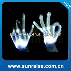 party light up skeleton gloves
