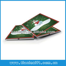 USB digital video player greeting cards wedding video card