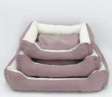 Cheap Stuffed PP Cotton Material Cute Dog Noble Pet Bed