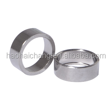 China Manufacturer Precision Turning nickel plating 12L14 steel sleeve bushings