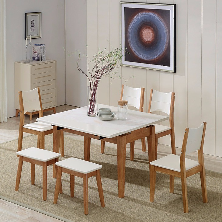 Hot selling dining room sets folding table and chair ethiopian furniture