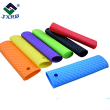 Pot pan sleeve cover grip heat resistant lodge silicone hot handle holder
