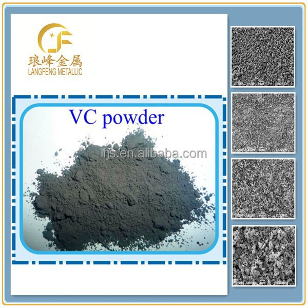 Factory-outlet!+99.5% Vanadium carbide for using in hard alloy,cermet domains etc