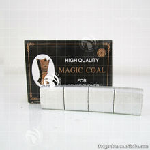 High quality of silver charcoal with the refinement packing, the best magic coal