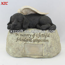 Nice Design Angel Dog Resin Pet Urn