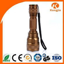High Power Rechargable Waterproof HID Big Torch Shock Flashlight