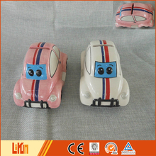 Custom ODM dolomite car shape novelty piggy banks