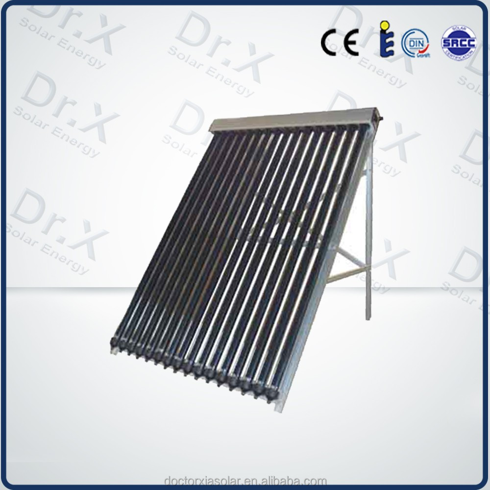 Direct Manufacturer SRCC APPROVED vacuum tube solar heat pool collector