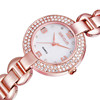 Diamond jewelry accessory rose gold silver crystal watch