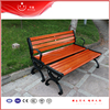 2016 New Good Quality Outdoor Wooden Bench Park Rest Chairs Long Size Street Chairs