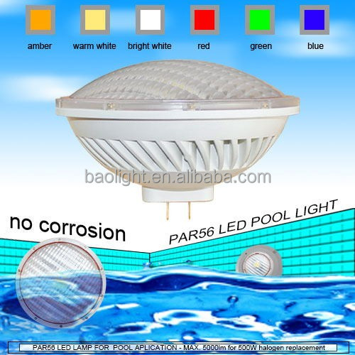 12v 120v 230v hot sell par 56 led swimming pool lights with ce rohs approval