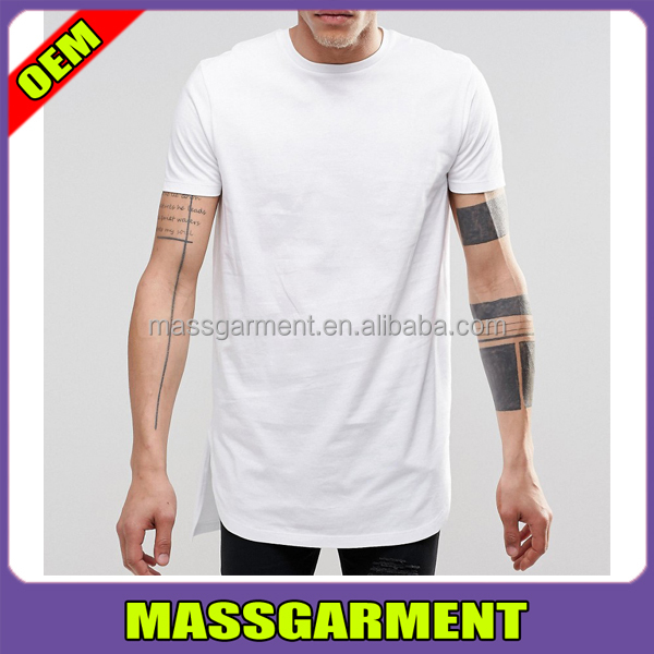 MS-1631 2017 Plain Men's T shirts Custom White T shirts Printing Cotton Mens T Shirts