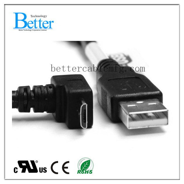 Bottom price stylish usb cable af to micro usb bm cable