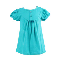 Kaiyo Summer Wholesale Good Quality Knit Cotton Baby Clothes Daily Casual Wear Dress for Little Girl Soft Tunic