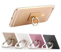 Ring finger grip one hand mobile phone holder, fancy phone holder