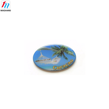 Custom flexible color 3d soft pvc fridge magnet