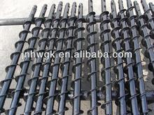 water exploring coal mine spiral/auger/twist drill pipe/rod