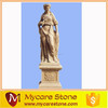 Chinese woman stone sculpture, stone statue on sale