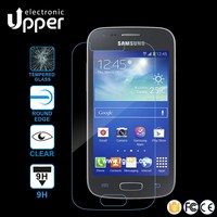 China supplier 0.2mm thickness 2.5D 9H tempered glass screen protector for samsung galaxy young s3610