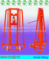 Trapezoidal and hydraulic cable drum jack,China