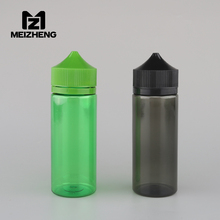 120ml green black dropper clear squeeze plastic pe unicorn needle nose nicotina liquid bottle