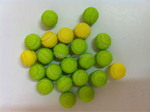 Tennis Shape Fruit Flavored Bubble Gum / Chewing Gum Sweets