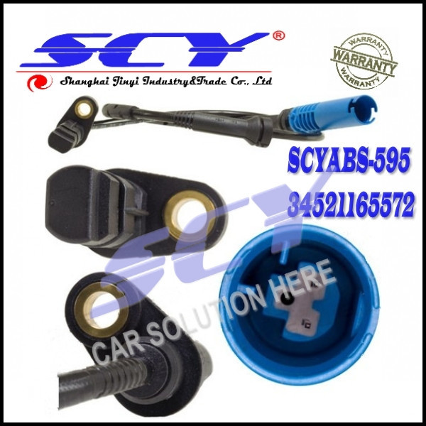 ABS Speed Sensor Front Left or Right GENUINE Warranty For BMW E53 X5 OE 34 52 1 165 572 34521165572
