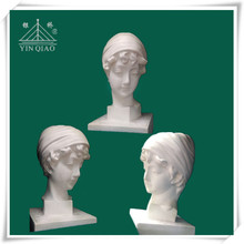 Household decoration gypsum plaster statues of Venus