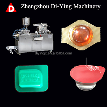 Automatic Oil Cheese Paste Sauce Ketchup Liquid Chocolate Butter Jam Honey Blister Packing Machine