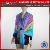China manufacturer new fashioned luxury indian cashmere shawls