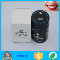 100% natural charcoal teeth whitener with bamboo toothbrush