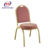 Chinese Hotel Furniture Red Steel Banquet Chair