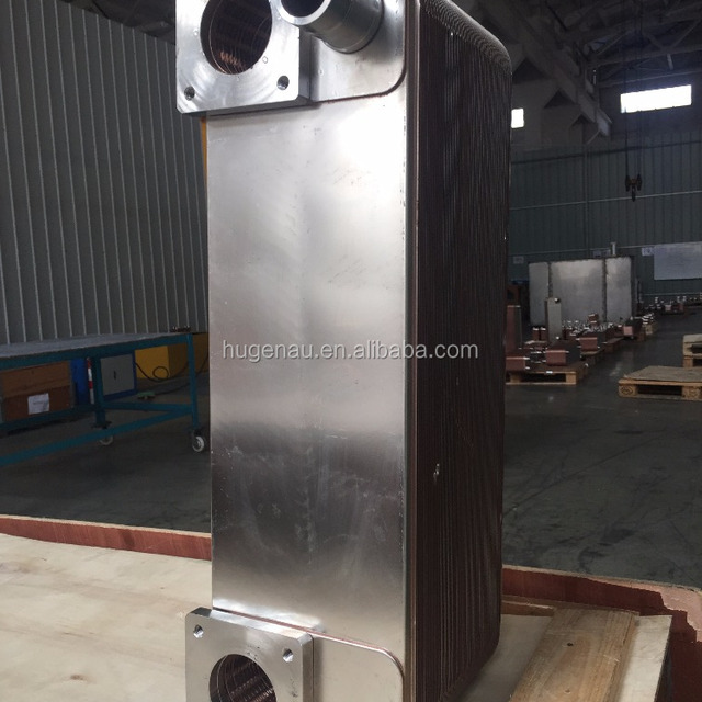 CB77 Brazed Plate Heat Exchanger Equivalent Copper brazing material for Air Condenser in Compressor system HU95C