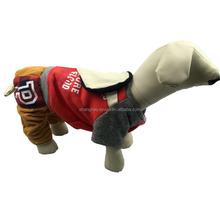 Hot Selling Luxury Red Dog Outdoor Coat Pet Clothes