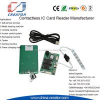 Access Control System RFID contactless smart card reader writing module