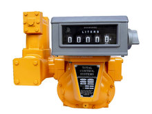 High accuracy and repeability oil station fuel dispenser flow meter/industry meter