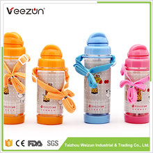 Perfect durable cartoon bottle for kids bpa free custom sports plastic water bottle