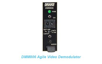 DMM806 Agile Video Demodulator