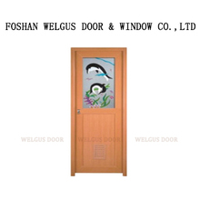 China supplier interior stained glass doors